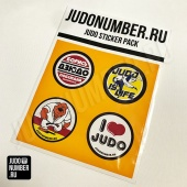 Набор наклеек Judo Sticker Pack Judonumber 001